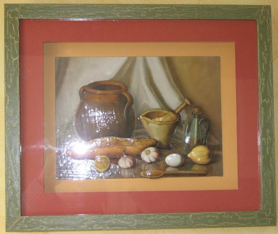 tableau 3d theme cuisine